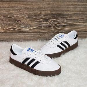 New Adidas Sambarose white Sneakers